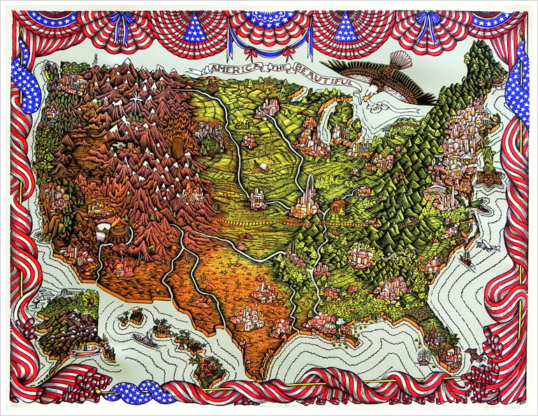 Americathebeautiful_woodcut_tugboatprintshop